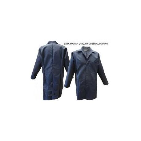 Bata industrial manga larga en gabardina 100% algodón