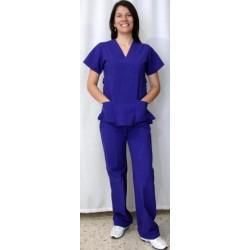 Pijama quirúrgica para dama