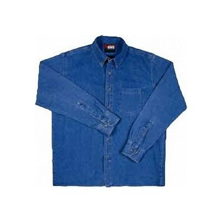Camisa Manga Larga en Mezclilla 8oz.